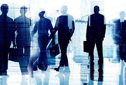 תמונת רקע דמויות אנשי עסקים